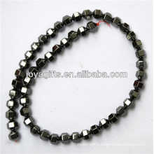 Natural hematite 8*8MM loose beads for jewelry